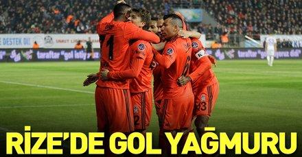 Rize'de gol yağmuru | Çaykur Rizespor 2 - 7 Beşiktaş