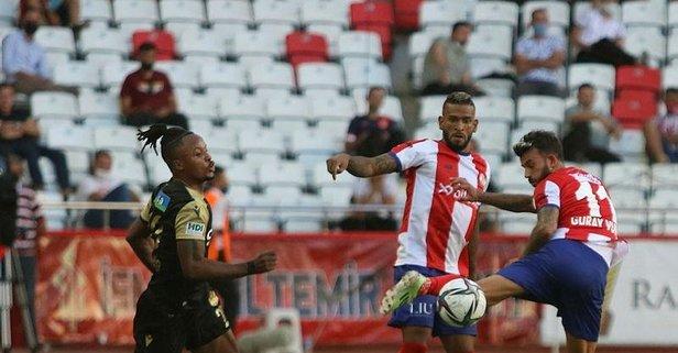 Antalya tek golle 3 puanı kaptı!