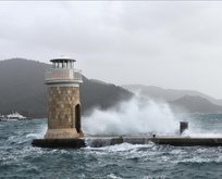 Olumsuz hava koşulları deniz ulaşımını vurdu! Seferler iptal
