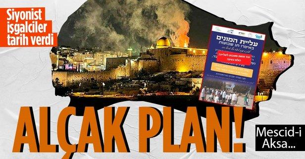 Fanatik Yahudiler Mescid-i Aksa'ya baskın yapacak!
