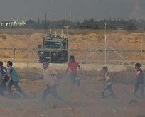 İsrail yine saldırdı! Çok sayıda yaralı var