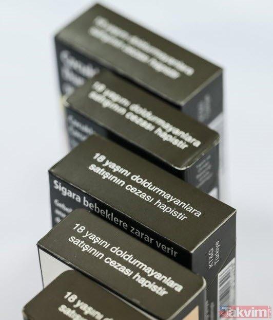 Sigarada tarihi adım: Yarın başlıyor! Yeni sigara paketleri bakın nasıl olacak