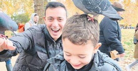 Mustafa Sandalın oğlu Yavuz'a talih kuşu