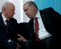 Erdoğan-Bahçeli görüşmesiyle ilgili flaş açıklama