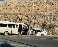Şanlıurfa'da korkunç kaza! Kafa kafaya çarpıştılar