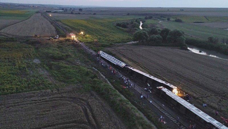 Türkiyedeki büyük tren kazaları