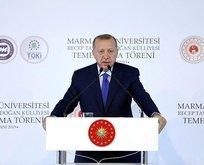 Erdoğan'dan Macron'un NATO açıklamasına çok sert tepki