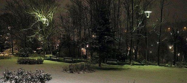 Başkent Ankara mart ayında beyaza büründü