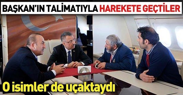 Oktay ve Çavuşoğlu, Tuyan'ın ailesiyle görüştü