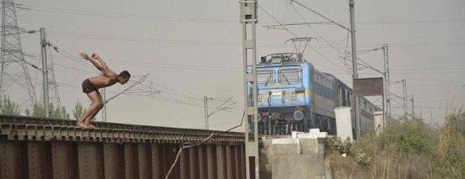 Sadece Hindistanda olabilecek şeyler...