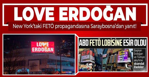 FETÖ propagandasına yanıt Sarabosna'dan!
