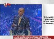 Erdoğan: Bu alçakların bizim hanımefendi kardeşlerimize bile gücü yetmez
