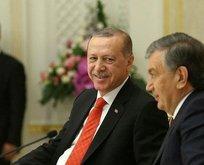 Erdoğan, Özbekistan Parlamentosu'nda konuştu