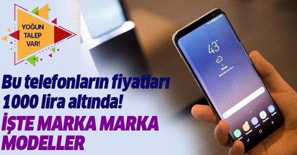 1000 lira altı 2019 Ağustos ayı cep telefonu markaları ...