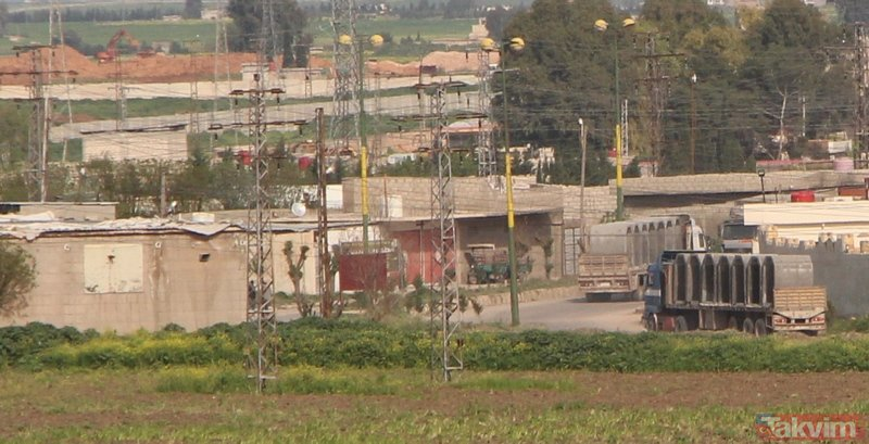 Kamışlı'daki teröristlerin tünel inşası sürüyor