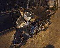 Motosikleti çalan 2 hırsız, 30 dakikada yakalandı