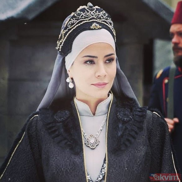 Payitaht Abdülhamid'den Bidar Sultan Özlem Conker yaşıyla herkesi şaşırttı!  Bu kadın pek yaşlanmıyor