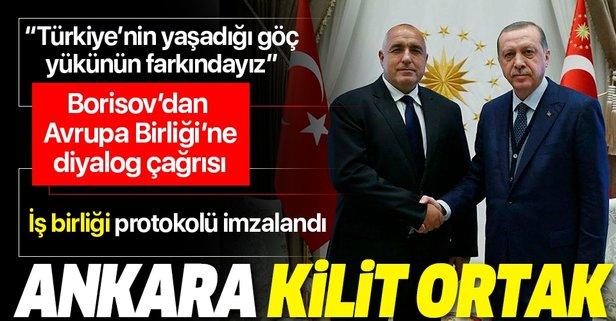 Borisov: Türkiye kilit ortak
