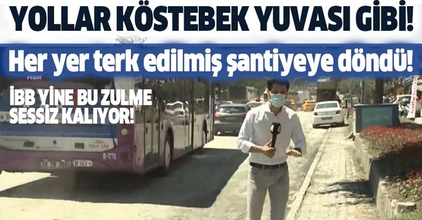 İstanbul köstebek yuvasına döndü! Halk isyan etti