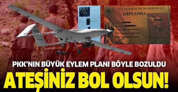 PKK'nın eylem planı böyle bozuldu! Ateşiniz bol olsun...