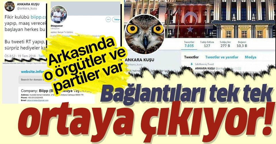 Son dakika: 'Ankara Kuşu' hesabının sahibi Oktay Yaşar'ın bağlantıları ortaya çıktı