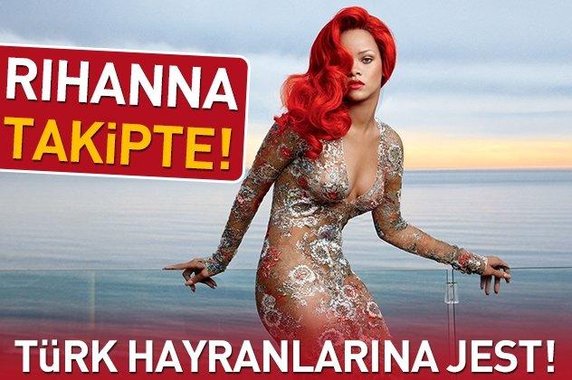 Rihanna takipte