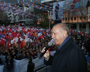 Başkan Erdoğan'dan Amasya'da kritik açıklamalar