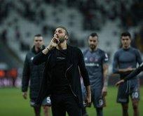 Cenk Tosun'dan Beşiktaş'a destek!