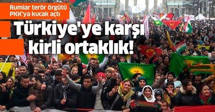 Türkiye'ye karşı kirli ortaklık! Rumlar terör örgütü PKK'ya kucak açtı
