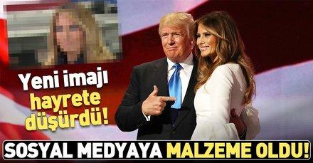 Melania Trump'ın sarı saçlı hali herkesi şaşkına çevirdi!