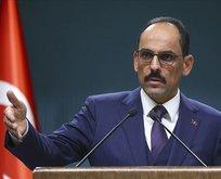 Kalın'dan Bakan Albayrak'a saldırılara tepki