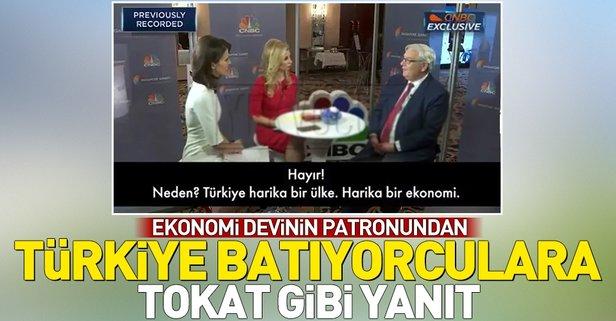 BNP Paribas'ın Başkanı Lemierre'den Türkiye batıyor diyenlere tokat gibi yanıt
