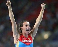 Altın kız Isinbayeva