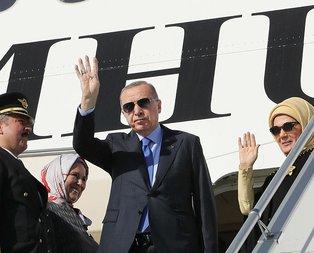 Başkan Erdoğan ABD'ye gitti! İşte heyetteki isimler