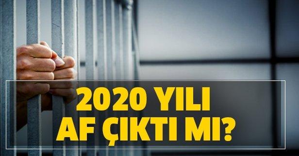 2020 af çıktı mı? Ceza indirimi uygulanacak mahkumlar hangileri?