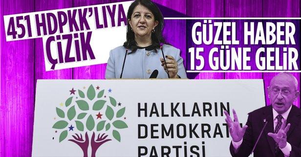 451 HDP'li hakkında siyasi yasak isteniyor