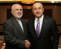 Çavuşoğlu, İranlı mevkidaşı ile görüştü
