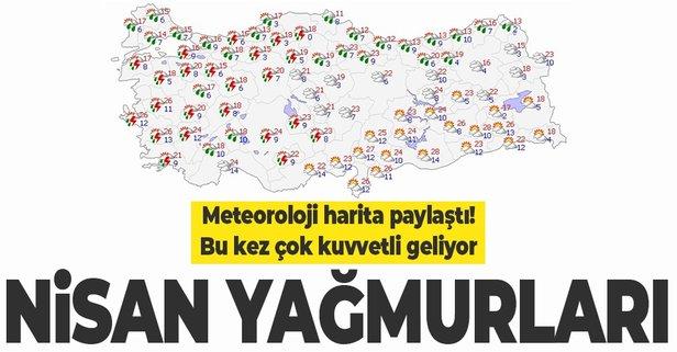 Bu bölgelerde yaşayanlar dikkat! Meteoroloji uyardı kuvvetli geliyor