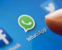 WhatsAppa bir yenilik daha! Parmağınızı basılı tutarak...