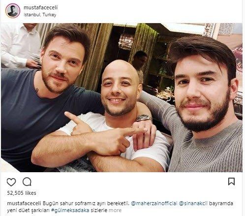 Ünlü isimlerin Instagram paylaşımları (23.05.2018)