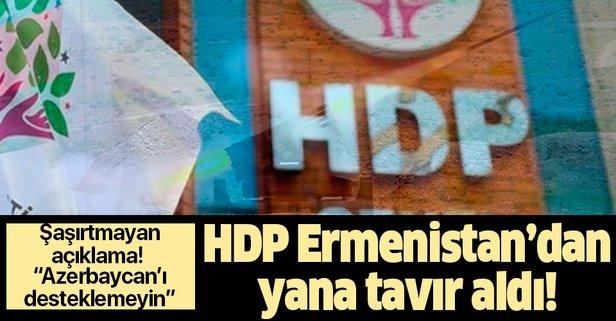 HDP'den skandal açıklama!