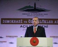 Başkan Erdoğan o şiiri okudu