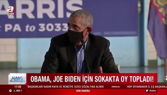ABD eski başkanı Barack Obama Biden için sahaya indi