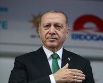 Erdoğandan mega proje müjdesi