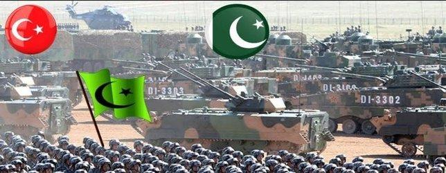 Yeri göğü inletiyorlar!  İslam ordusunun gücü