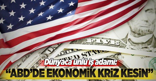 ABDde ekonomik kriz kesin
