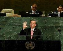 Erdoğan BM'den bütün dünyaya seslenecek