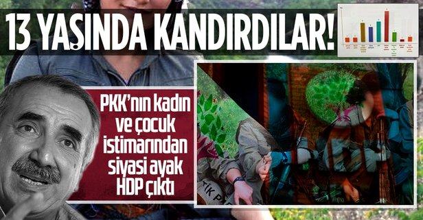PKK'nın kadın istismarından HDP çıktı!