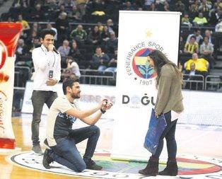 Ülker Arena'da ömürlük basket