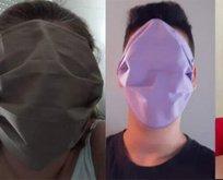 Yunanistan'da dağıtılan maskeler alay konusu oldu!